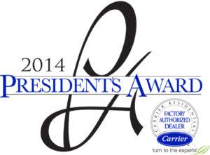 Malek Service Company - President's Award 2014